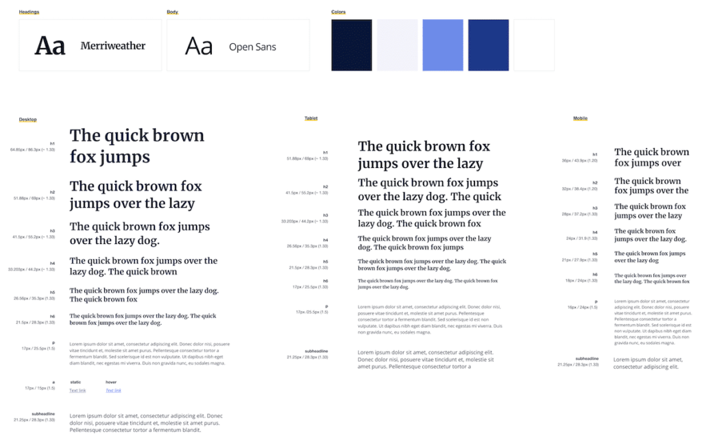 style guide 7 ux rules
